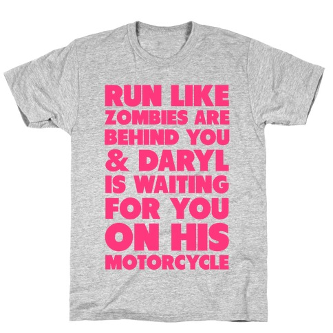 Run Like Daryl is Waiting T-Shirt