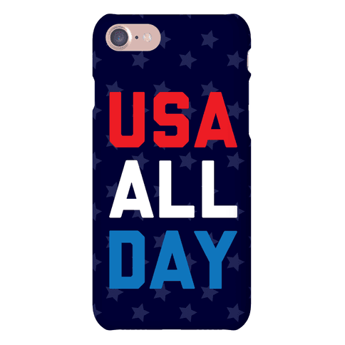 USA All Day Phone Case