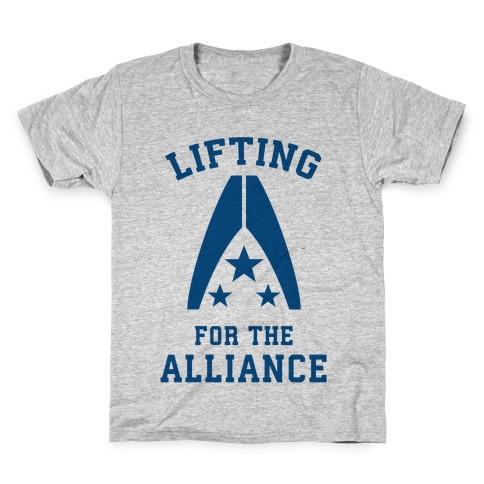 Lifting For The Alliance Kids T-Shirt