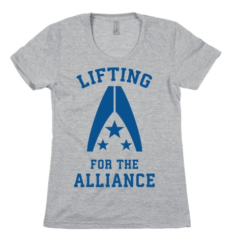 Lifting For The Alliance Womens T-Shirt