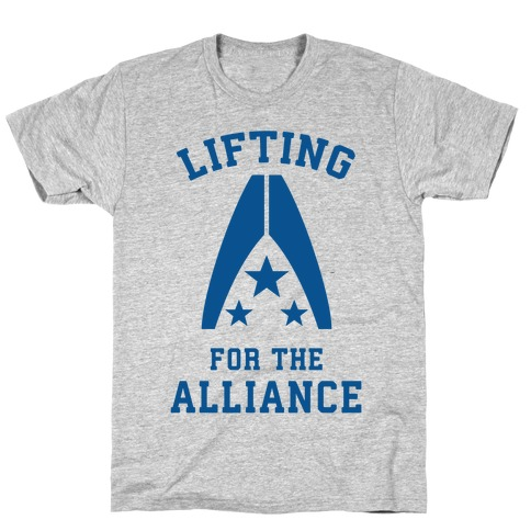 Lifting For The Alliance Mens/Unisex T-Shirt