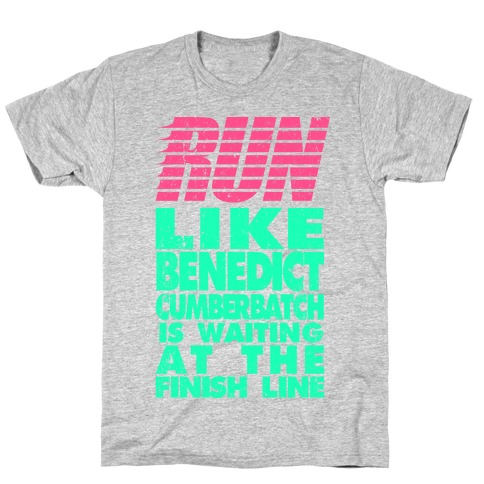 Run Like Benedict Cumberbatch T-Shirt