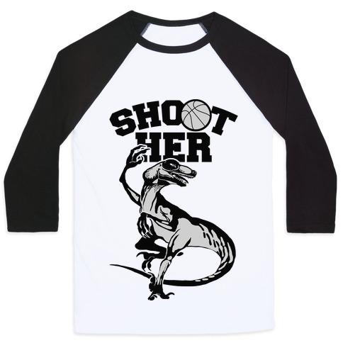 Shoot Her Baseball Tee