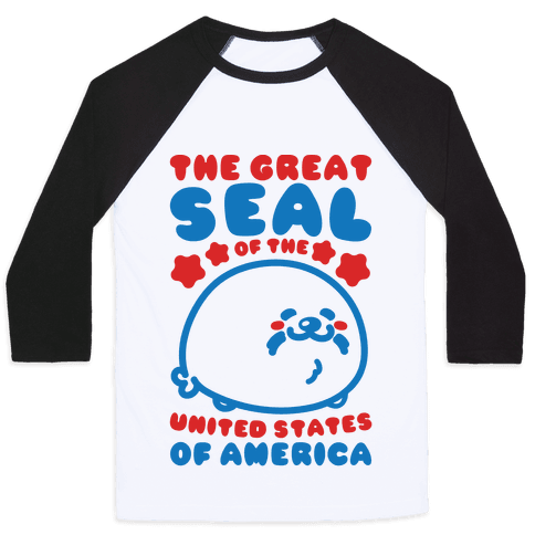 The Great Seal of The United States of America Baseball Tee