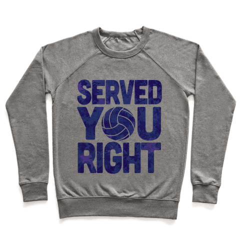 Served You Right (Blue) Pullover