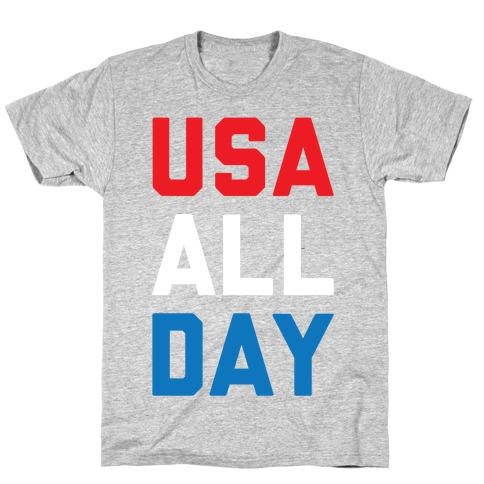 USA All Day T-Shirt