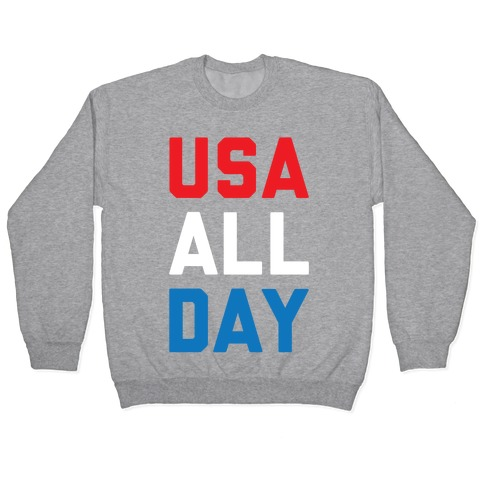 USA All Day Pullover