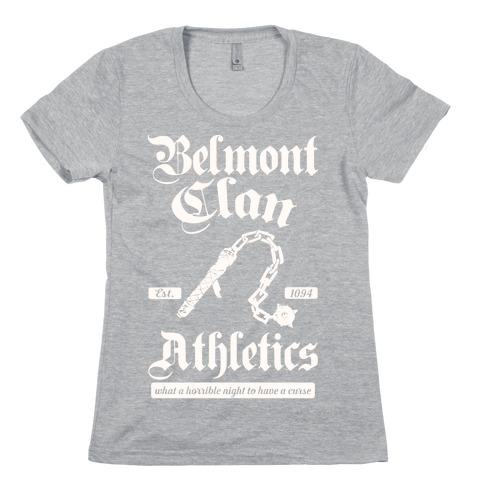 Belmont Clan Athletics Womens T-Shirt