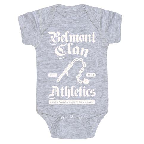 Belmont Clan Athletics Baby Onesy