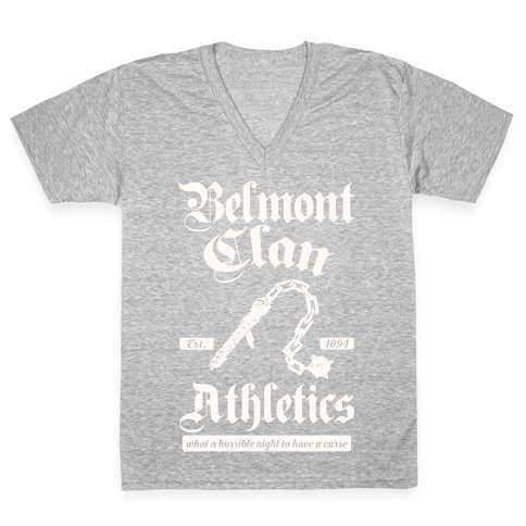 Belmont Clan Athletics V-Neck Tee Shirt