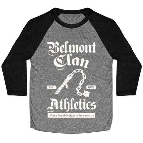 Belmont Clan Athletics Baseball Tee