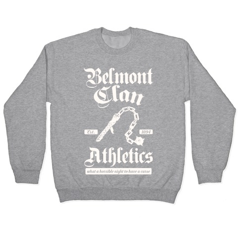 Belmont Clan Athletics Pullover