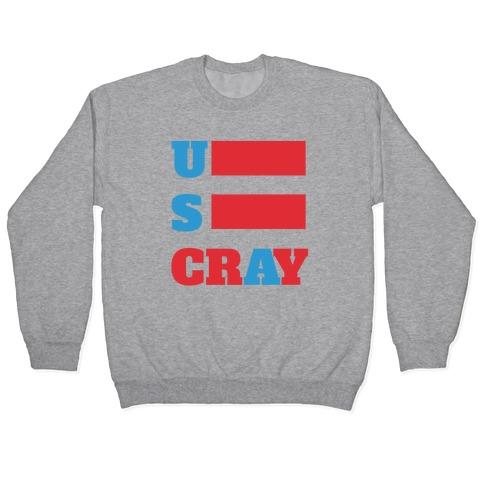 U S Cray Pullover