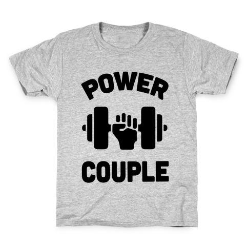 Power Couple Kids T-Shirt