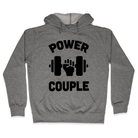 Power Couple Hooded Sweatshirt