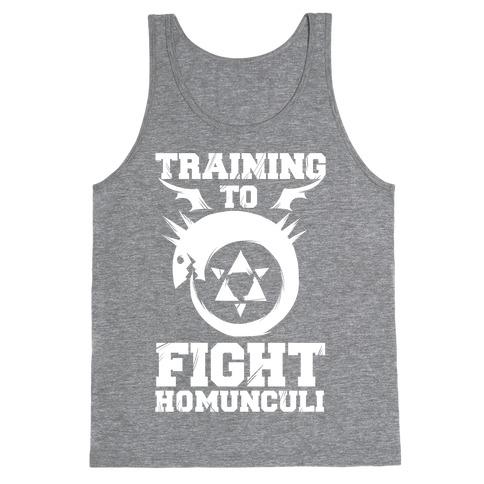 Training to Fight Homunculi Tank Top