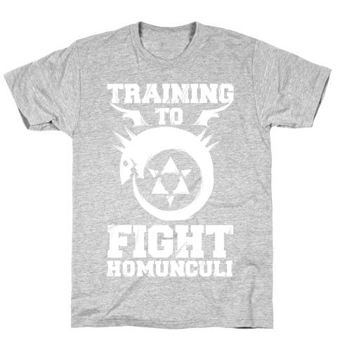 Training to Fight Homunculi T-Shirt