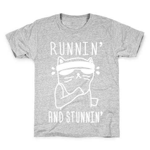 Runnin' And Stunnin' Cat Kids T-Shirt