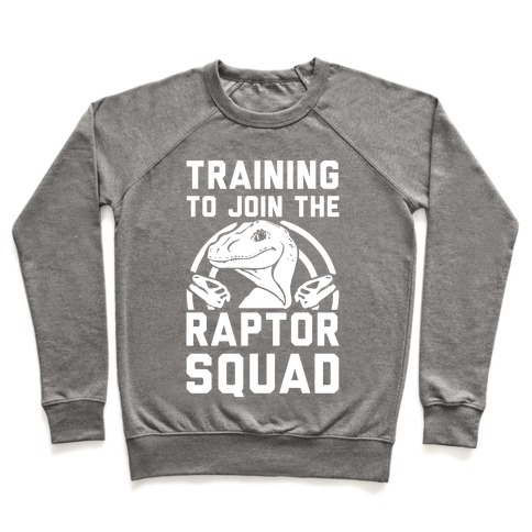 Training To Join The Raptor Squad Pullover