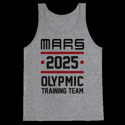 Mars Olympics Tank Top