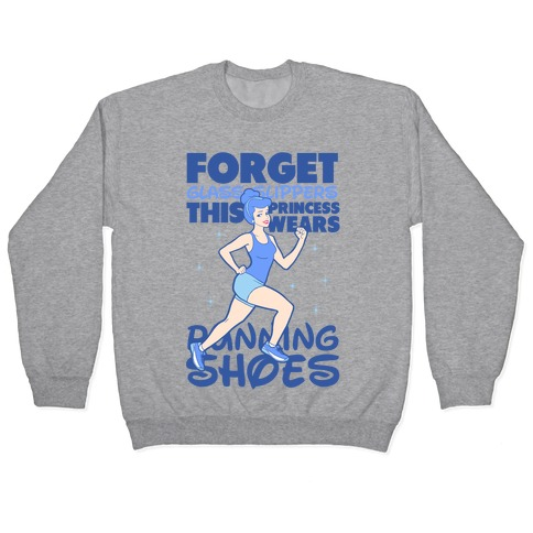 This Princess Wears Running Shoes (Dark Print) Pullover