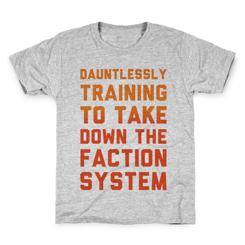 Dauntlessly Training Kids T-Shirt