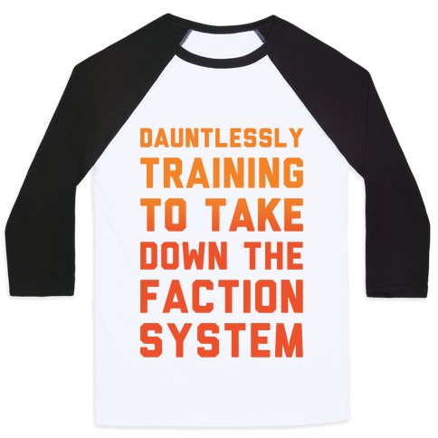 Dauntlessly Training Baseball Tee