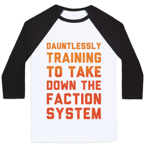 Dauntlessly Training Baseball Tee
