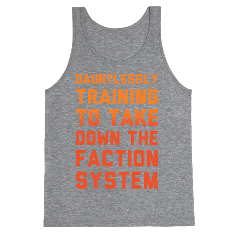 Dauntlessly Training Tank Top