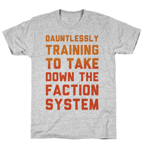 Dauntlessly Training Mens T-Shirt