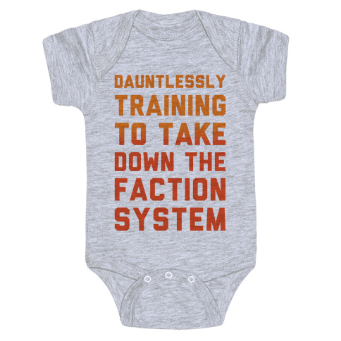 Dauntlessly Training Baby Onesy