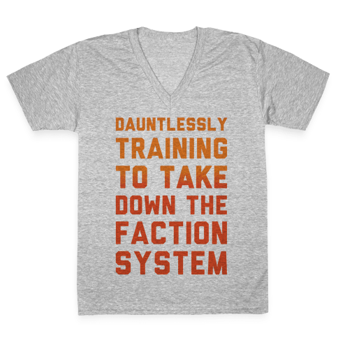 Dauntlessly Training V-Neck Tee Shirt