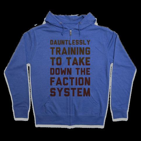 Dauntlessly Training Zip Hoodie