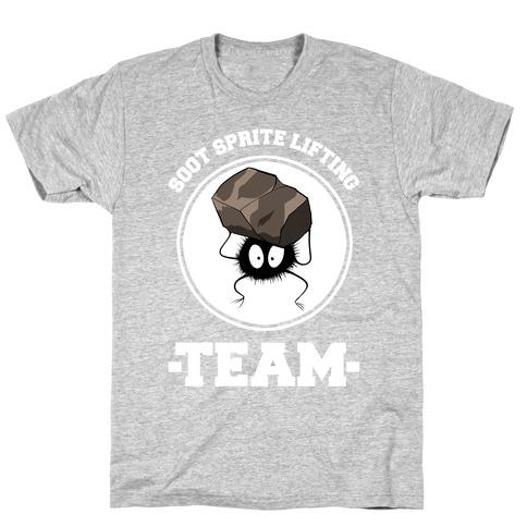 Soot Sprite Lifting Team T-Shirt