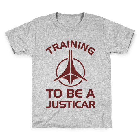 Training To Be A Justicar Kids T-Shirt