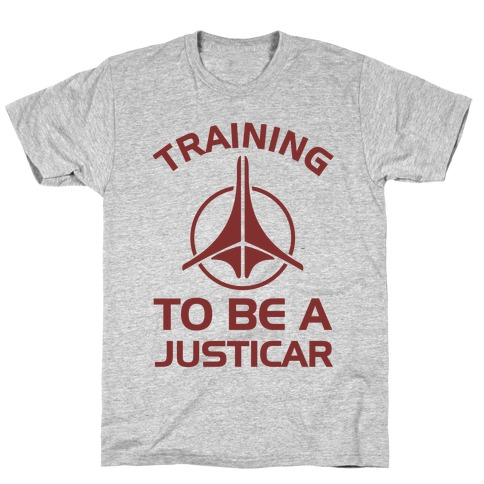 Training To Be A Justicar T-Shirt