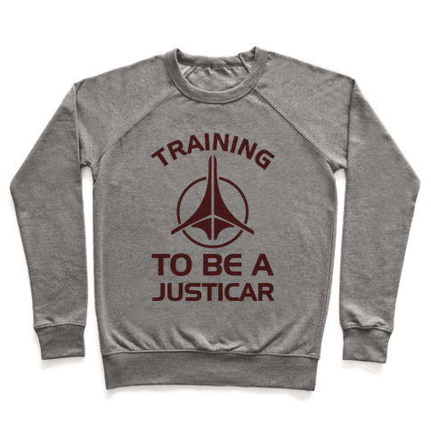 Training To Be A Justicar Pullover
