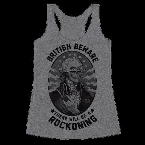 British Beware Racerback Tank Top