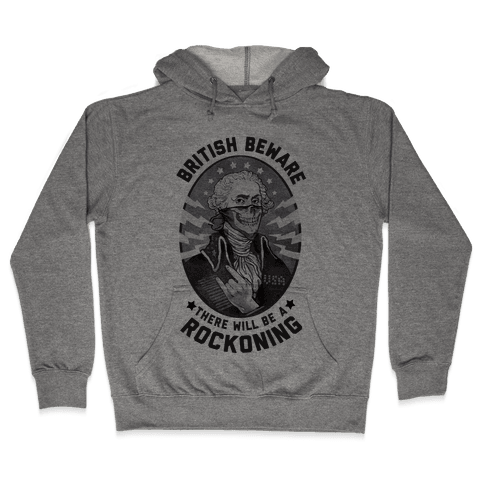 British Beware Hooded Sweatshirt
