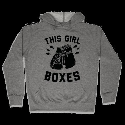 This Girl Boxes Hooded Sweatshirt