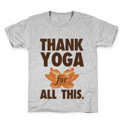 Thank Yoga Kids T-Shirt