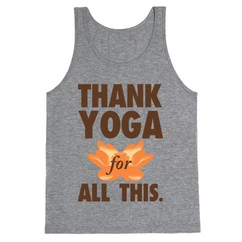 Thank Yoga Tank Top
