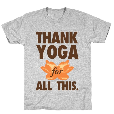 Thank Yoga Mens T-Shirt