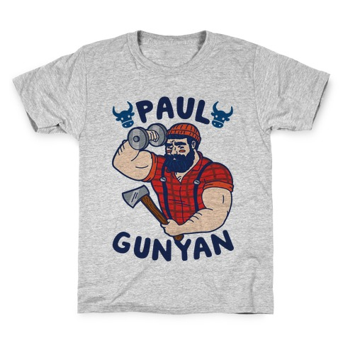 Paul Gunyan Kids T-Shirt