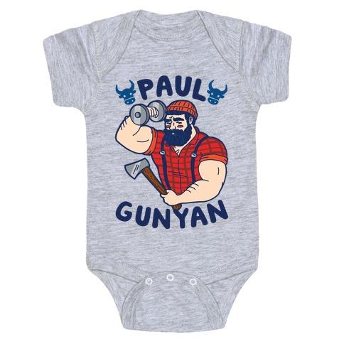 Paul Gunyan Baby Onesy