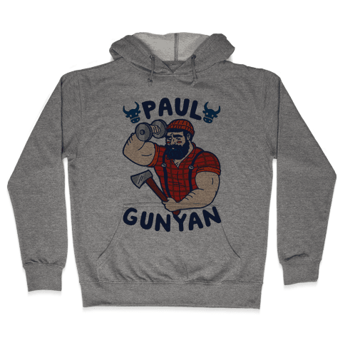 Paul Gunyan Hooded Sweatshirt