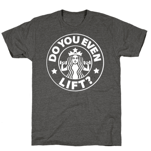 Do You Even Lift Coffee Parody