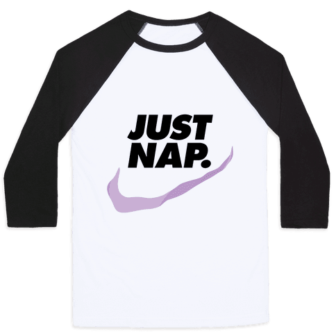 Just Nap Baseball Tee