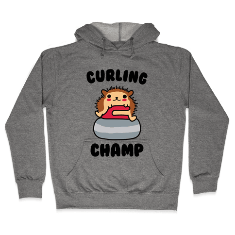 Curling Champ Hooded Sweatshirt