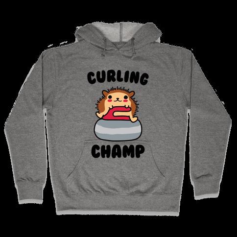 Curling Champ Hooded Sweatshirt